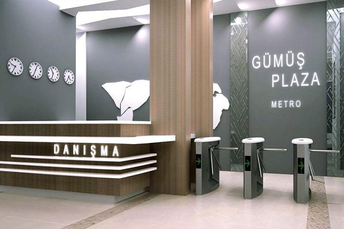 Gümüş Plaza Metro