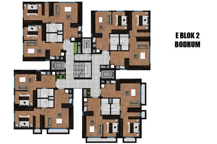 Green Pine Maslak Residence