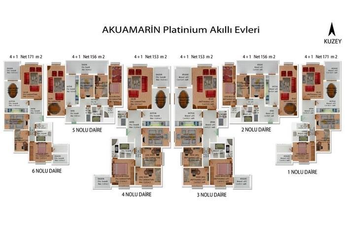 Kaşüstü Aquamarine Platinum