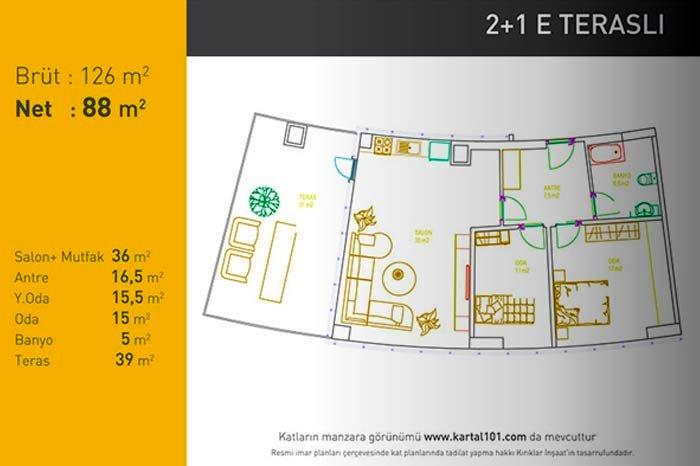 Kartal 101 Residence