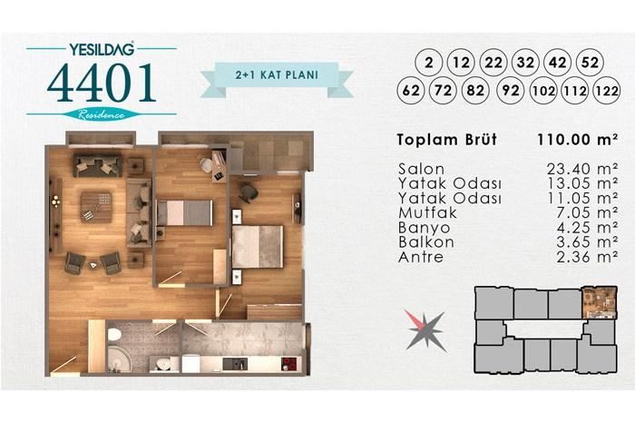 Kağıthane 4401 Rezidans
