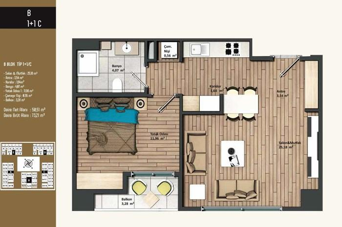 Kameroğlu Metrohome Residence