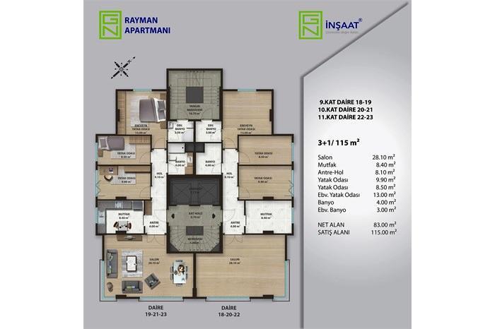 GN Rayman Apartmanı